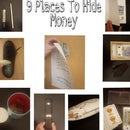 9 Places to Hide Money