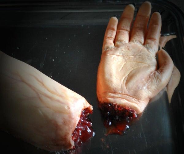 Severed Hand Cake