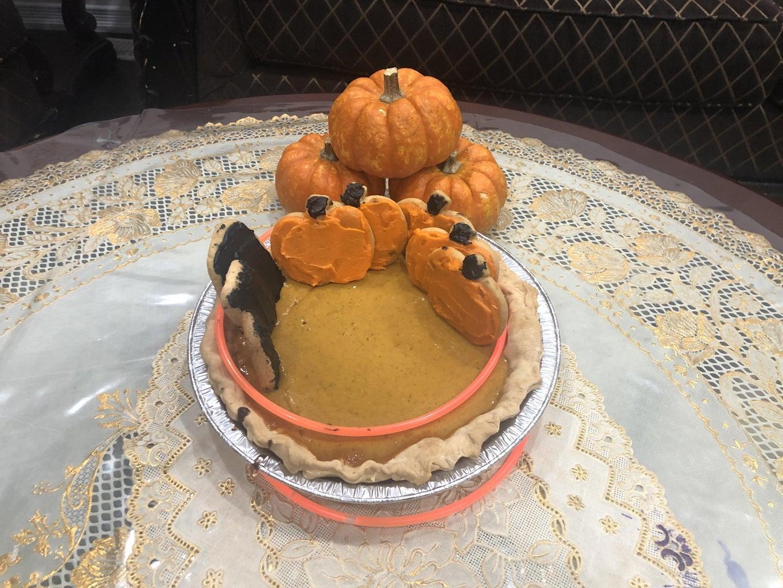 The Pumpkin Horror Pie