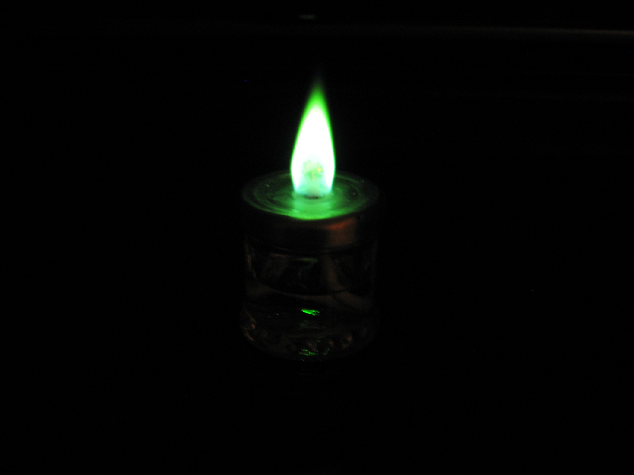 The Spirit Lantern (Green Fire 2.0)