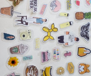 Simple DIY Stickers (without Sticker Paper)