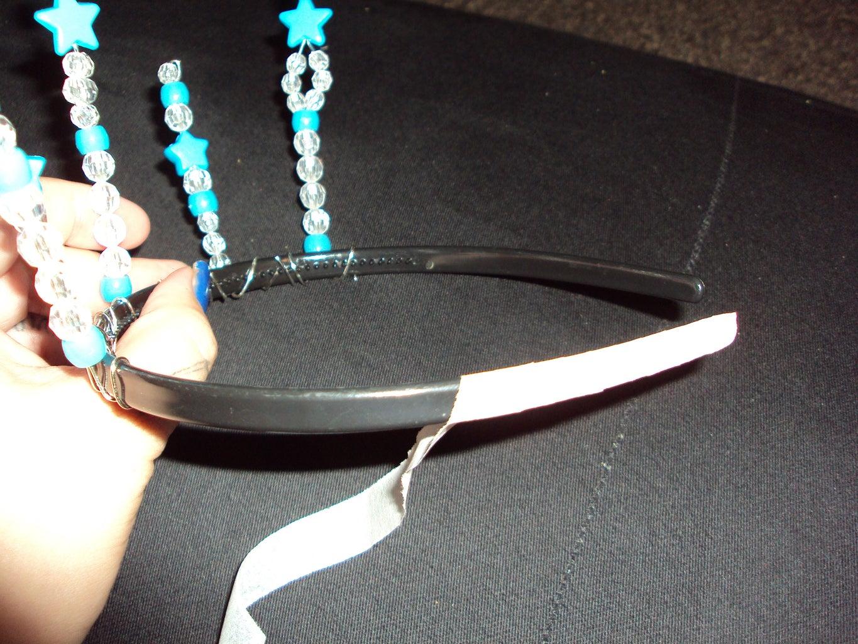 Wrapping the Headband