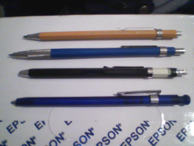 Make 2.0mm leads for 2.0mm mechanical pencil or leadholder