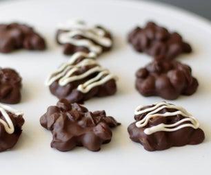 巧克力花生串