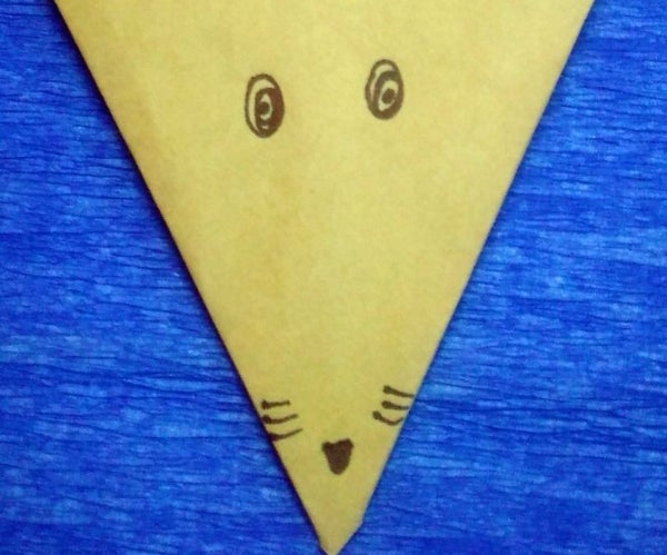 How to Make Origami Fox's Head
