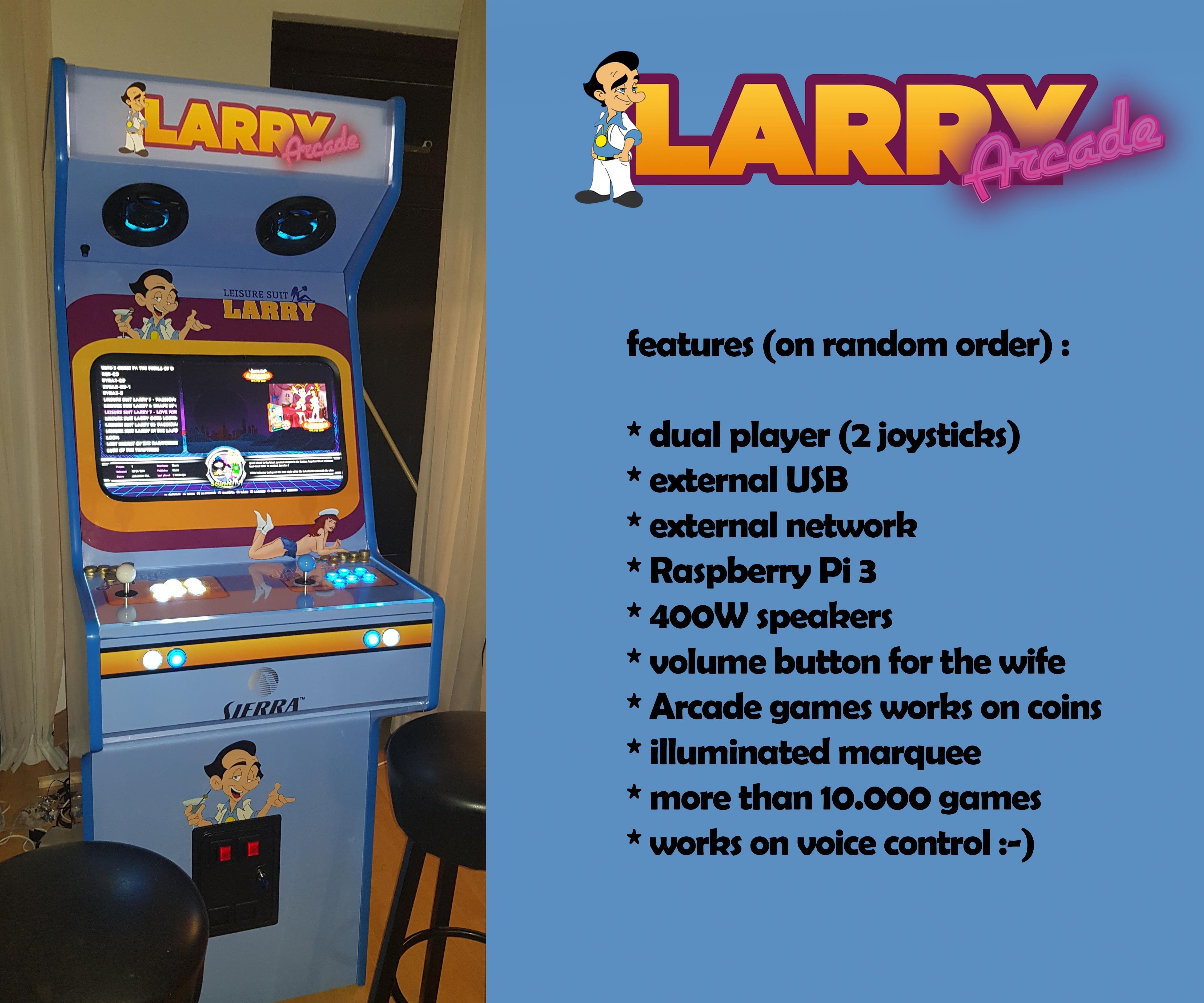 Leisure Suit Larry Arcade Machine Deluxe