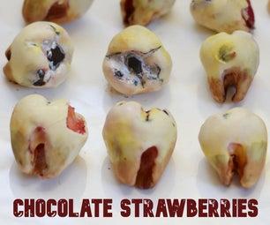 Rotten Teeth Chocolate Strawberries