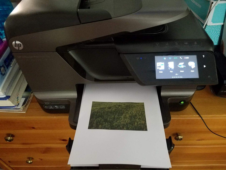Printing the Designs