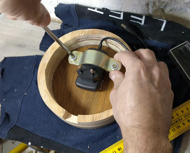 Initial Placing the Adapter