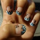 Geo Nails (How To)
