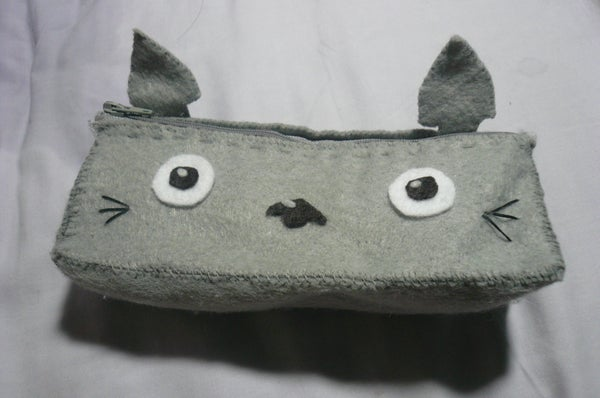 How to Make a [Totoro] Pencil Case for Under $3!