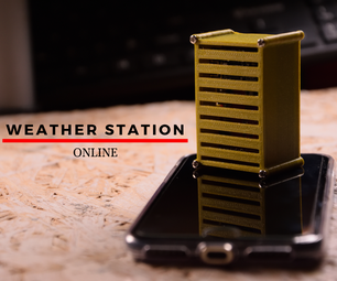 Online Weather Station