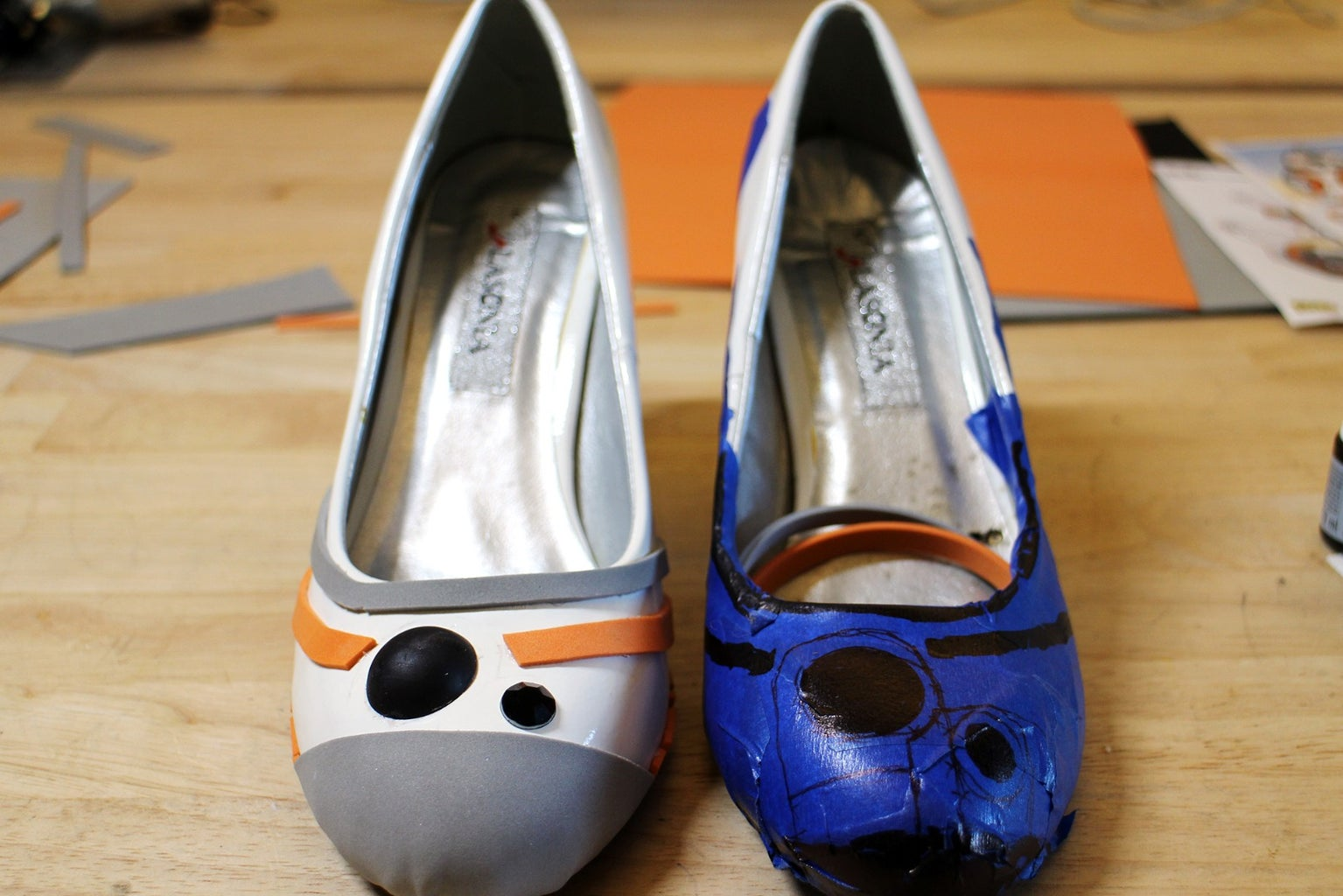 Toe Embellishment - Complete Other Shoe