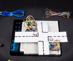How to Simulate a Traffic Light System With Arduino Nano