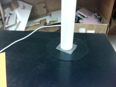 Old School LED CD Lamp