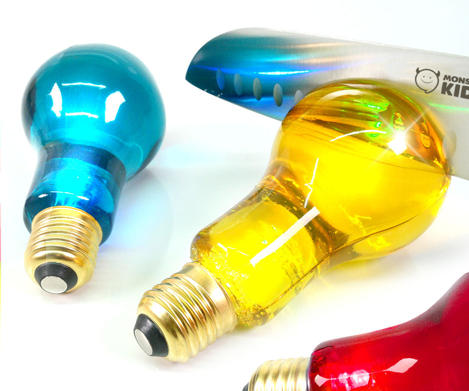 DIY Edible Glow Light Bulb Jelly
