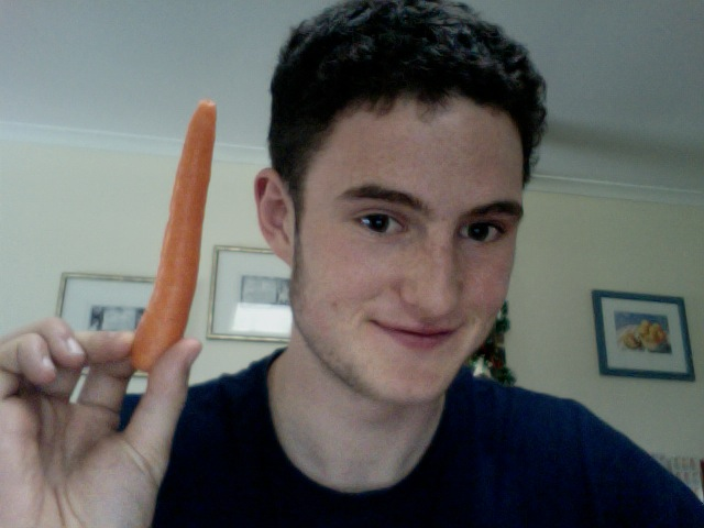 how to eat a carrot properly!!!!!!!!!!!!!!!!
