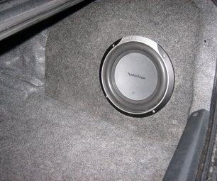 Custom Fiberglass Subwoofer