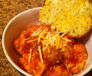 Easy Meals #1 Italian Sausage Balls and 3 Cheese Tortellini