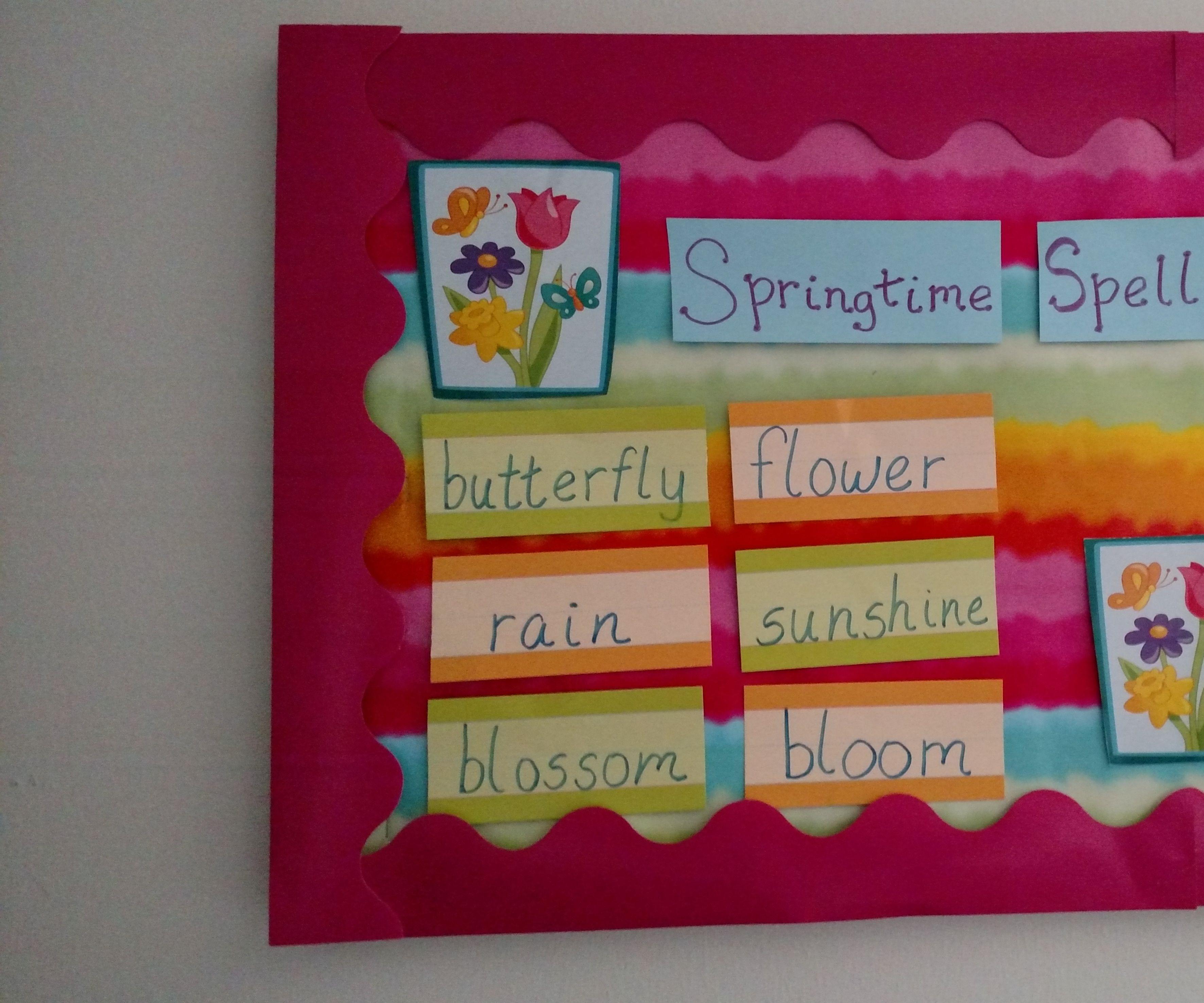 Classroom Bulletin Board