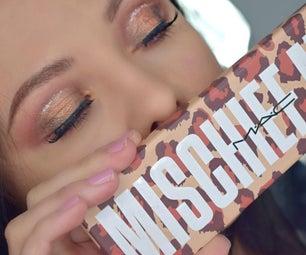 Golden Spotlight Eye Makeup