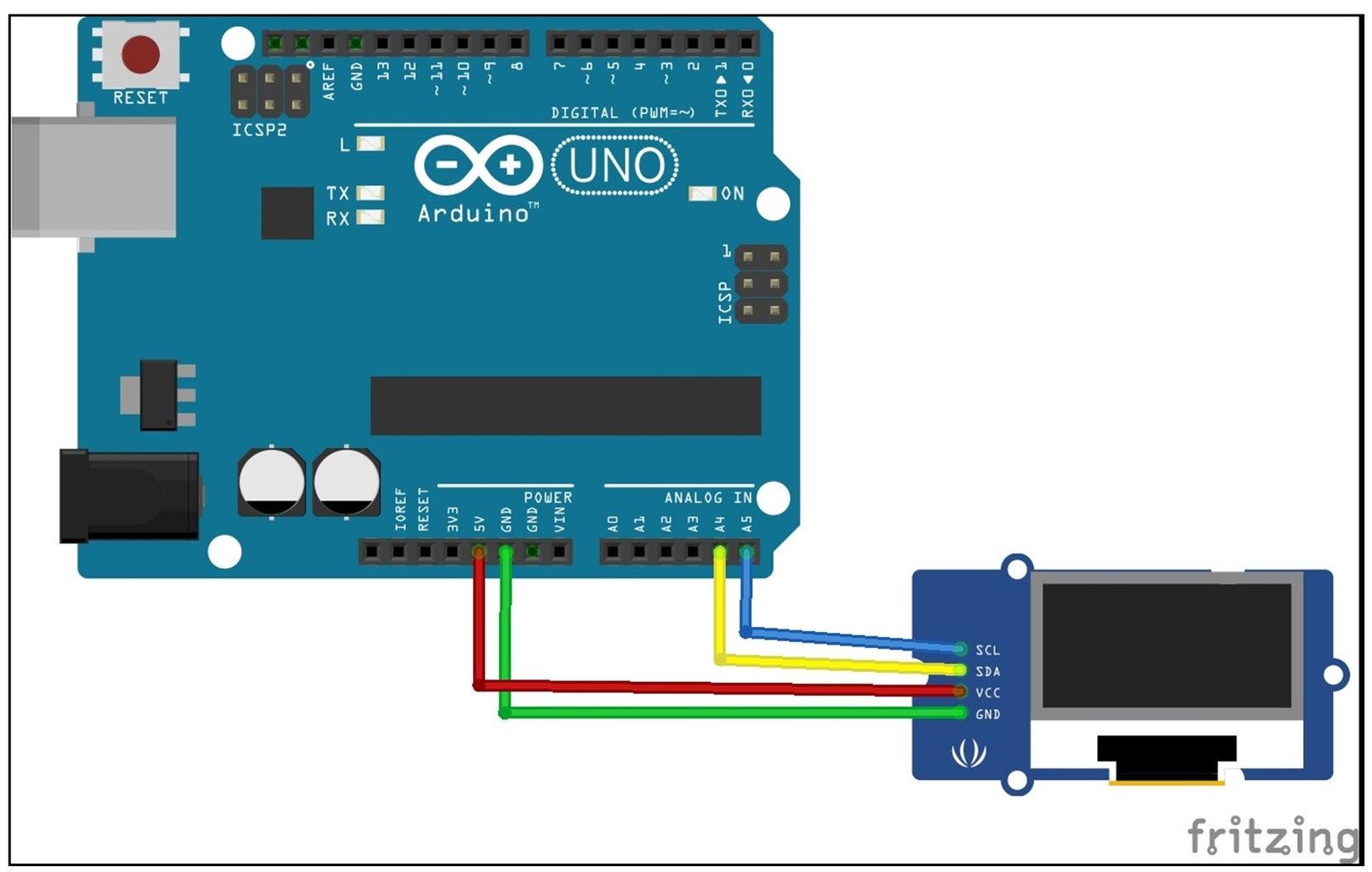 OLED Display Circuit Diagram