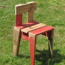 How to Make a Kids Chair From Reclaimed Wood