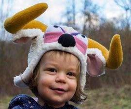 儿童可爱的ram帽子