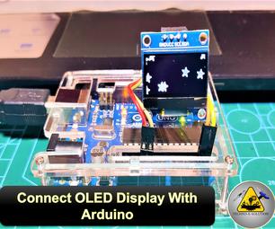 如何使用Arduino Uno连接OLED显示屏