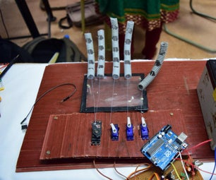 AI Robotic Arm Which Plays Hand Cricket