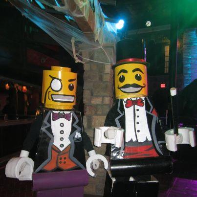 Lego Man Costume - Minifigures - Lego Magician and Lego Sir