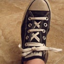 Double X line Lacing
