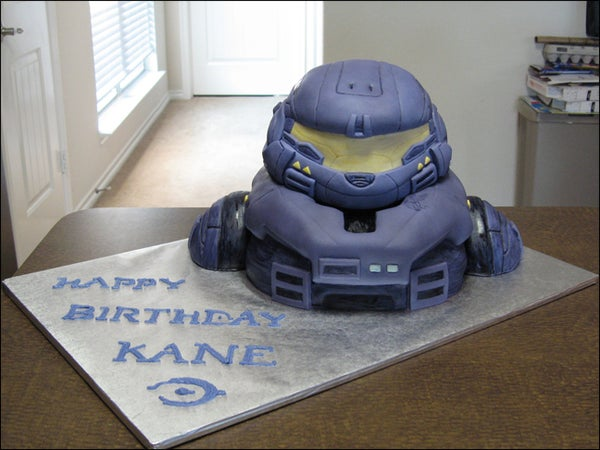 How to Make a Halo Cake