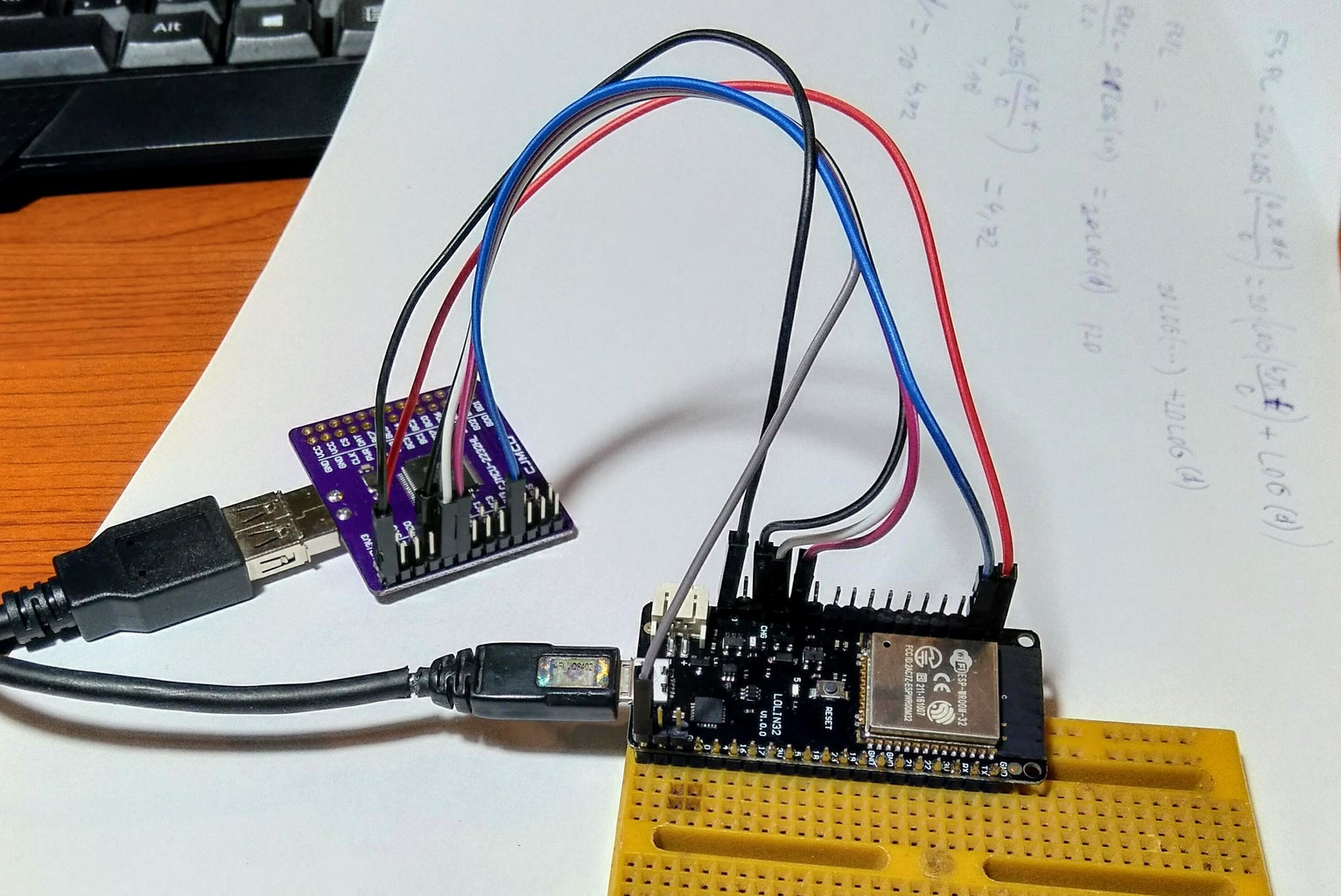 Wiring and First Test