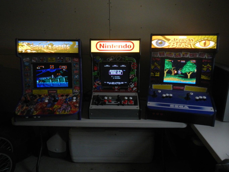 Homemade SNES Arcade Machine