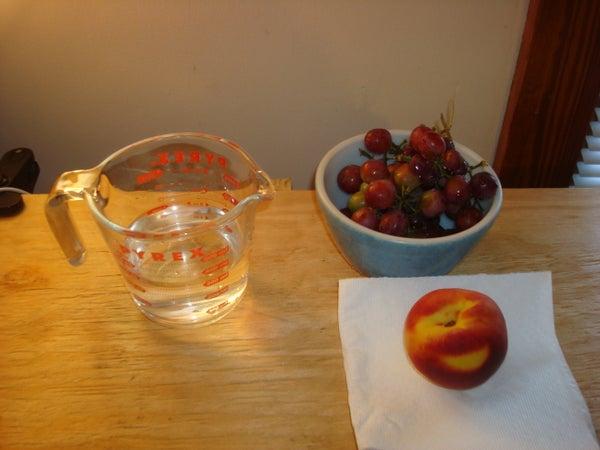 How Many Grapes Equals a Dozen Peaches?