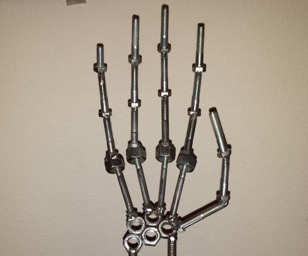 Skeleton Arm, Made by Penguin Manufacturing