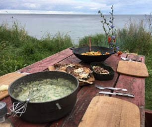 Underwater Hunting and Primitive Gourmet!