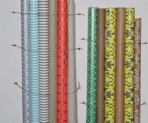 How to Organize and Store Wrapping Paper