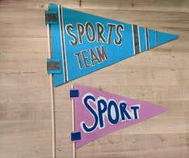 Sports Pennant