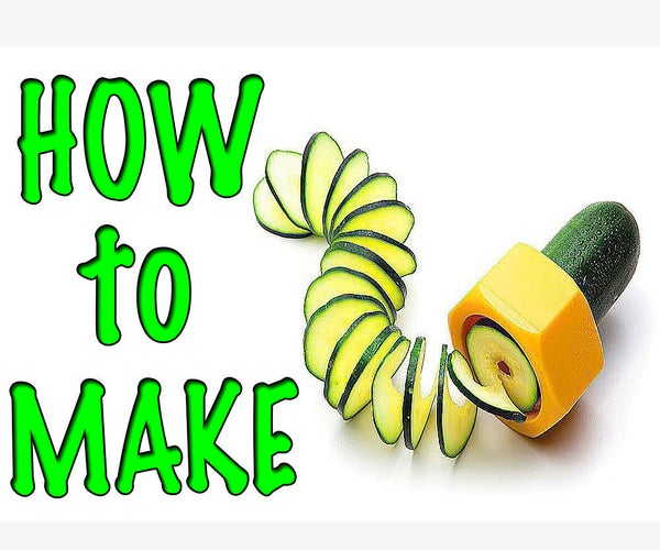 How to Make a Spiral Grater/ PVC HACKS