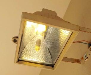 Retrofit a Incandescent Flood Light to LED