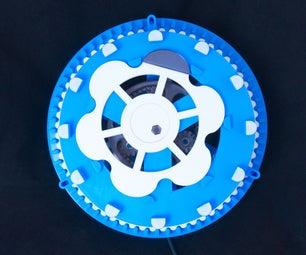 Cycloidal Gear Clock