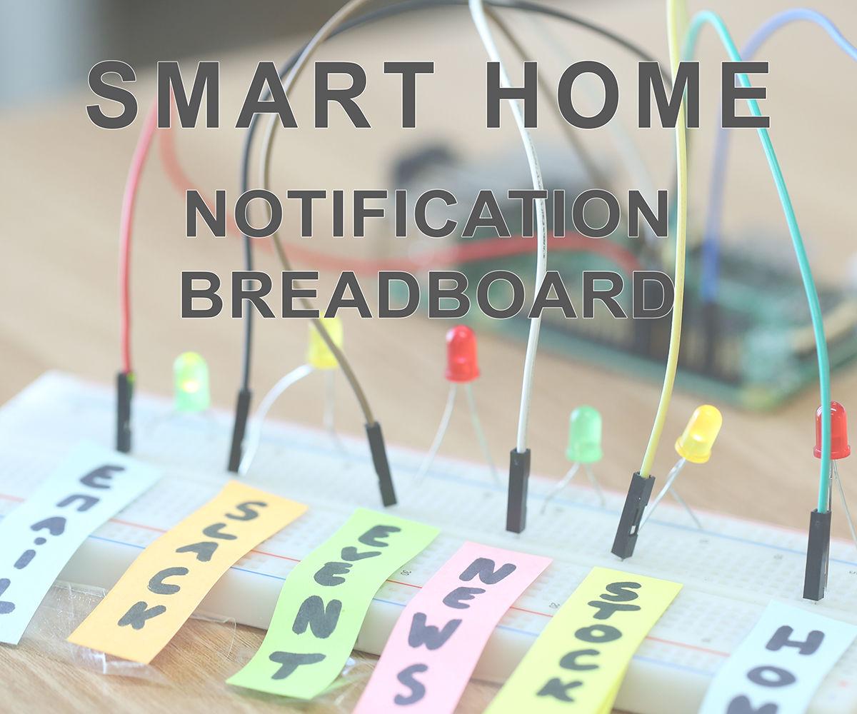 Smart Office - Notification Breadboard