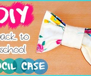 DIY Back to School! Bow Pencil Case/make Up Bag | Locker Organization