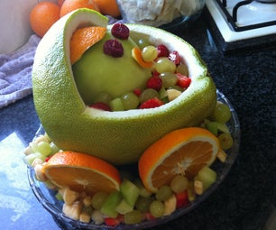 Decorated Dessert - a Baby in a A Cradle