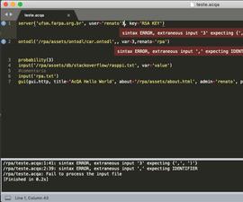 ACQA API Access.