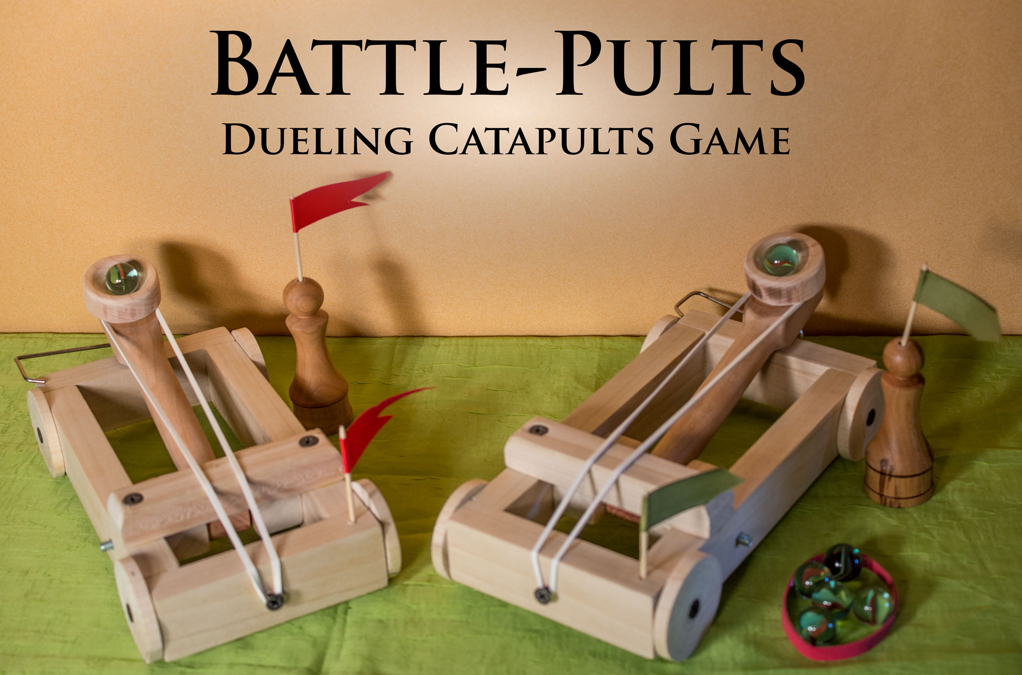 "Catapult Battle Game ""Battle-Pults"""