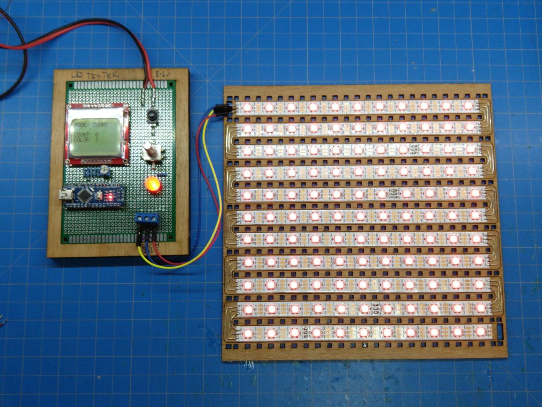 Solder the LEDs