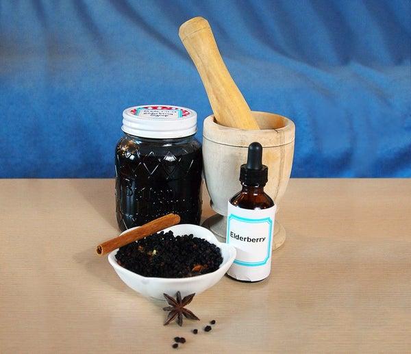 DIY Elderberry Syrup - Home Remedy for Flu & Immune Booster